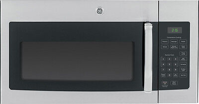 GE - 1.6 Cu. Ft. Over-the-Range Microwave - Stainless Steel