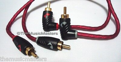 NAK Premium PVC Head 6' ft Dual RCA Stereo Audio Cable Wire (M-M) Gold Plated