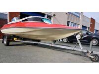 Speed boat Simms Super V with Suzuki engine