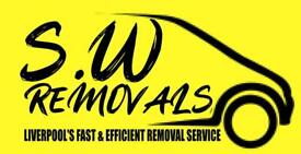 Van and man/house removals/office removals