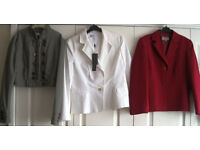 Coats and jackets - sizes 12, 14, 16, 18 and 20. £2 - £8