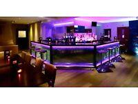 Looking for FT Bartenders & PT Barback (Harrow)