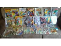 Dc and Marvel Comics and Books X96