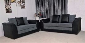 【BRAND NEW】BYRON (3+2) SOFA SET OR CORNER AT A REDUCED PRICE WITH FAST DELIVERY!