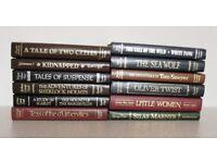 Classic Hard-Back Novels.