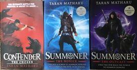 Contender/Summoner Books by Taran Matharu
