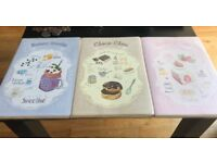 3 brand new notebooks