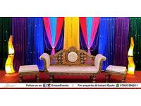 Unbeaten on Price! Huge Savings on Packages - Wedding Stage, Mehndi Stage, Wedding Catering