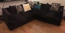 L-shaped corner sofa