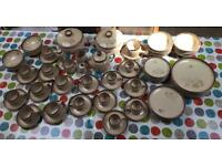 "Vintage Denby ""Memories"" Dining set (77 pieces) from late 1970's to early 1980's"