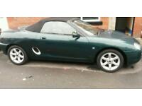 1998 Mg mgf 1.8 cabriolet 2 seater sports