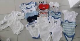 Variety of Newborn/0-3mths Vests