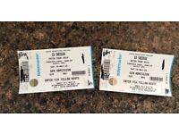 X2 Ed Sheeran Tickets Dublin May 2018