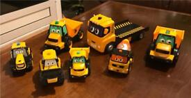 JCB KIDS TOY SET perfect condition