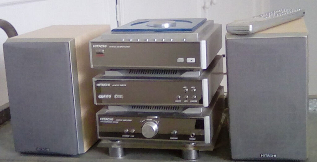 Hitachi Ax M130 Mini Micro Hi Fi Stereo Cd Dab Radio