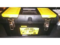 """19"""" Stanley toolbox, new"""
