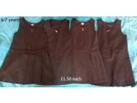 Girls clothes: school uniform age 6-7 for sale