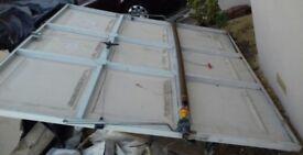 Used wicks single canopy garage door.
