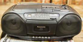 Panasonic portable stereo system