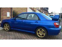 2002 Subaru Impreza WRX. Blue. Gold alloys. Factory Fitted Tracker. FSH. MOT July 2017.