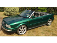 Green Audi 80 Cabriolet Final Edition 1.8 Manual - Electric Roof