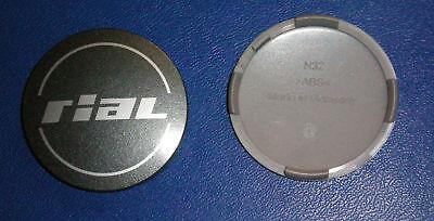 2X RIAL NABENDECKEL FELGENDECKEL N32 GRAPHITE 64MM AUCH PASSEND F R ANZIO ALUTEC