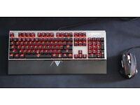 Gamdias Hermes E1 Mechanical Gaming Keyboard + Gaming Mouse