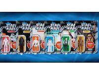 Star wars retro wave 1 full set