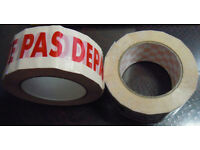300 ROLLS 132 mt x 50mm packaging tape - already branded