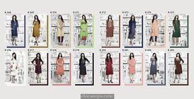 flow staylist reyon designer kurti collection