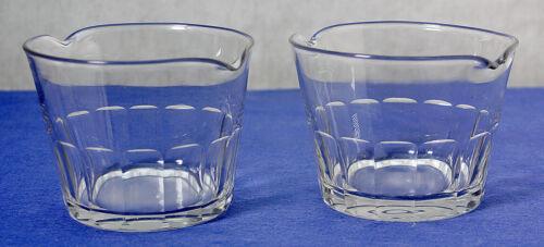 Pair (2) Vintage Georgian Wine Glass Rinsers