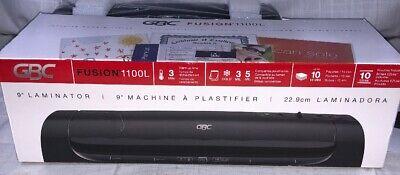 Gbc Fushion 1100l 9 Laminator By Swingline New Open Box