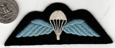 Post WWII NATO Great Britian Airborne Wings Parachute Felt Patch British England