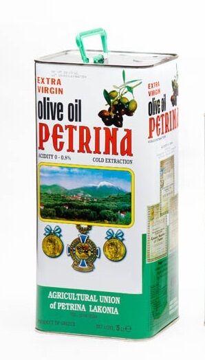 Extra Virgin Olive Oil Petrina Greece 5 lit.