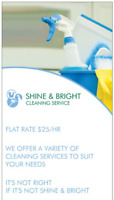 SHINE & BRIGHT CLEANING SERVICE