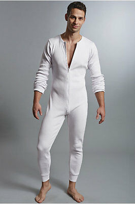 Full Thermal Suit (Men's Lumberjack Full Zip Union Suit Thermal Lounge Oneeze 3)