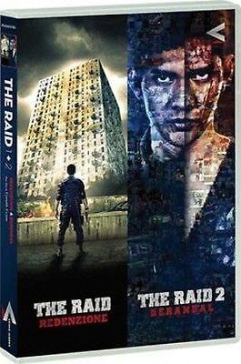 Dvd The Raid - Redenzione + The Raid 2 - Berandal - (Box 2 Dischi) ......NUOVO