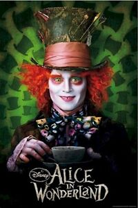 Alice In Wonderland & Corpse Bride Movie Poster BRAND NEW Gatineau Ottawa / Gatineau Area image 1
