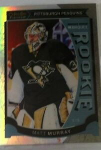 2015-16 O PEE CHEE PLATINUM MARQUEE ROOKIE WHITE ICE MATT MURRAY