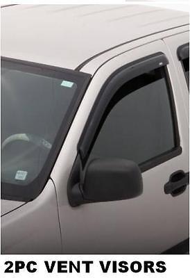 92436 Avs Rain Guards Vent Visors 2005-2012 Nissan Frontier King Cab on sale