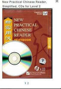 New Practical Chinese Reader Textbook 2 CD