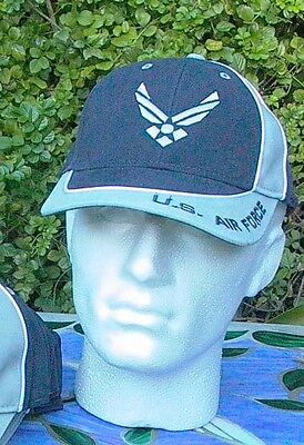 US Air Force Baseball Cap One Size Fit All New BEST PRICE ON (Best Fitting Baseball Hats)