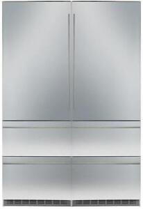 "https://aniks.ca/ Liebherr HC1540-HC1541 60"" wide, 84"" Tall Fully Integrated side by side Bottom-Freezer Refrigerator"