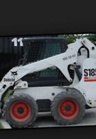 Bobcat services snow removal