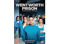 Wentworth prison season 5/Downton abbey seris 6 dvd boxsets