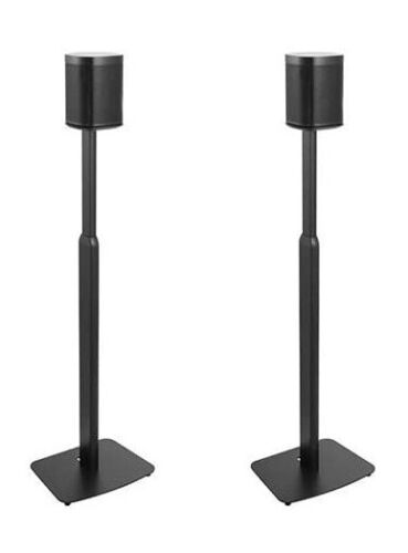 ynVISION Adjustable Floor Stands for Sonos One, One SL, Play:1 | PAIR | OPEN BOX