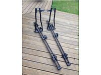 2 x Halfords roof mount cycle (bike) carriers