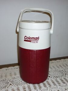 Coleman Polylite 5590 water jug thermos
