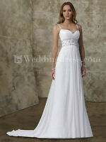 Brand new prefect size 8-10 wedding dress