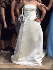 Cream white wedding dress size 10-14 for AUD300 Port Wakefield Wakefield Area Preview